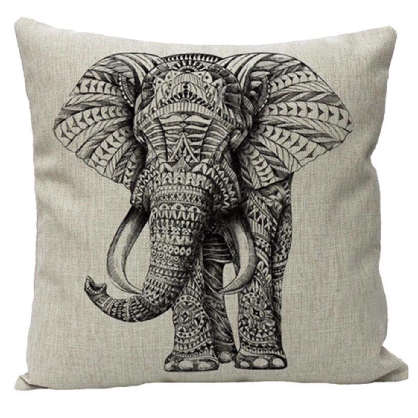 Jumbo the Elephant cushion cover