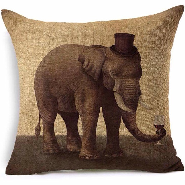 Gentleman Jumbo cushion cover