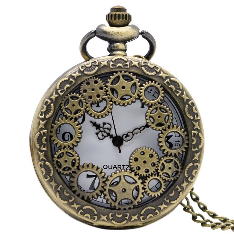 Cog pocket watch