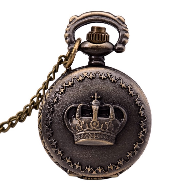 Victoria necklace-style pocket watch