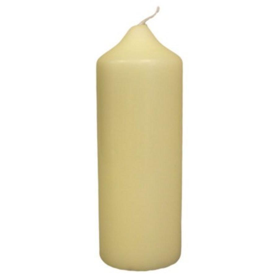 Church pillar candle (16.5cm x 6cm)
