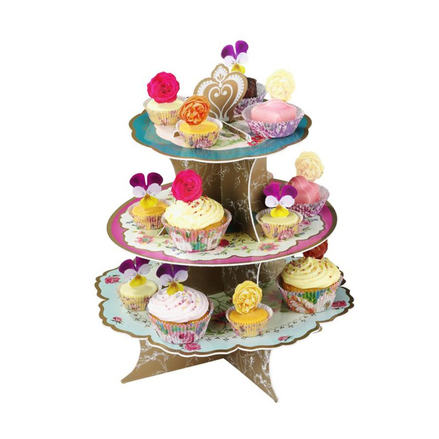 Truly Scrumptious three–tier cakestand
