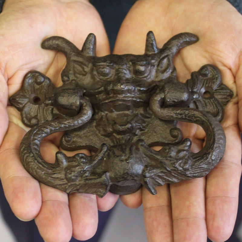 Cast iron dragon door knocker - Dragon door knocker ...
