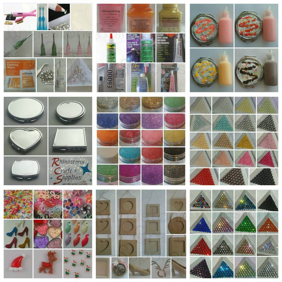 - Rhinestone Craft Supplies