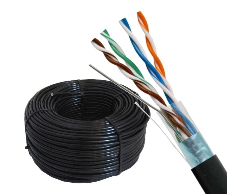 BEC-5OS Cat5e Outdoor Shielded 100m