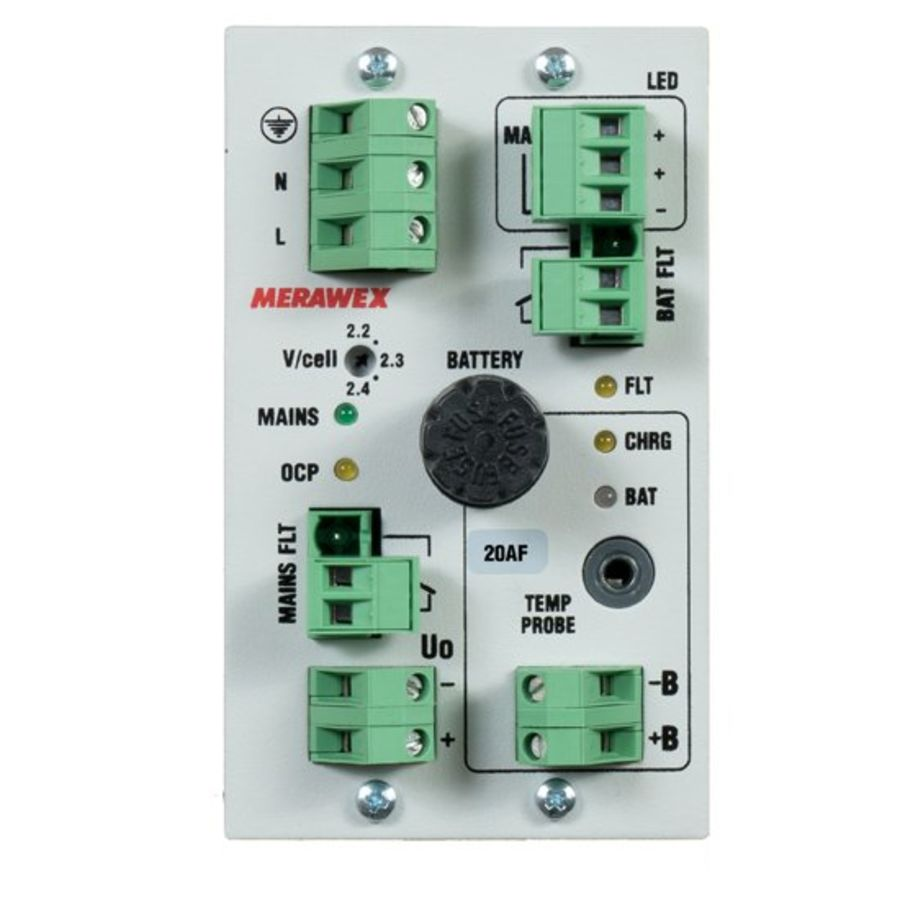DC 12V/16A Controlled Buffer Power Supply