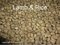 Lamb & Rice 6kg ( 12kg option)
