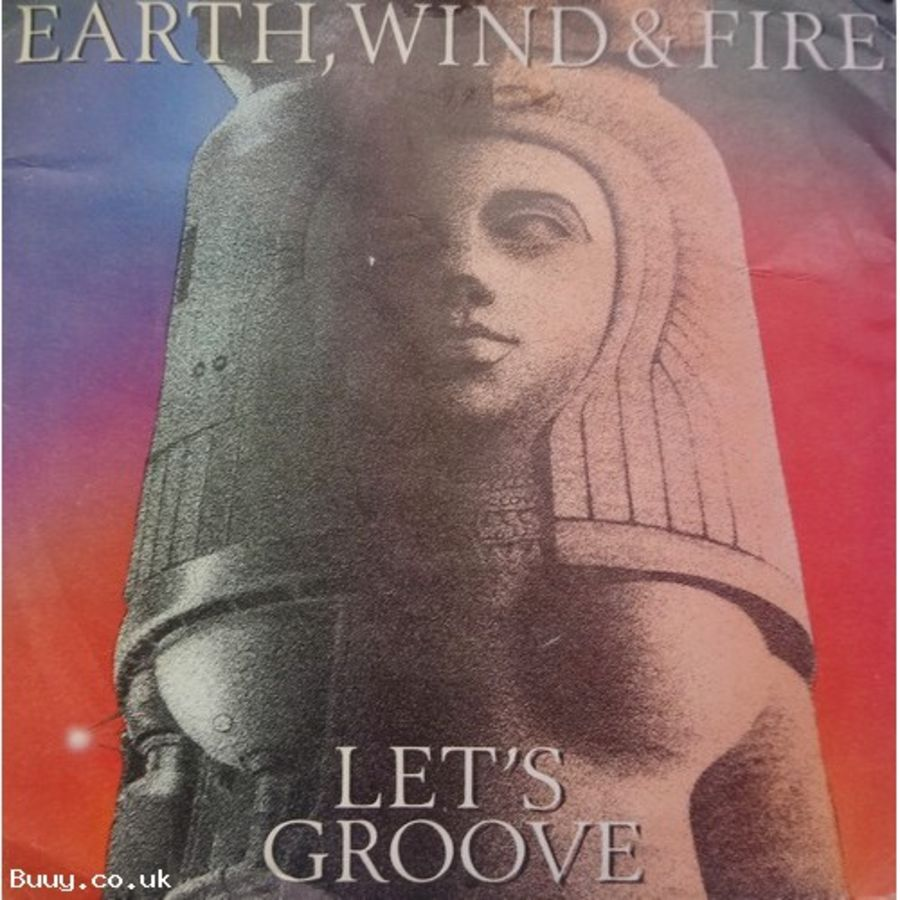 Earth Wind & Fire - Let's Groove - Vinyl Record 7