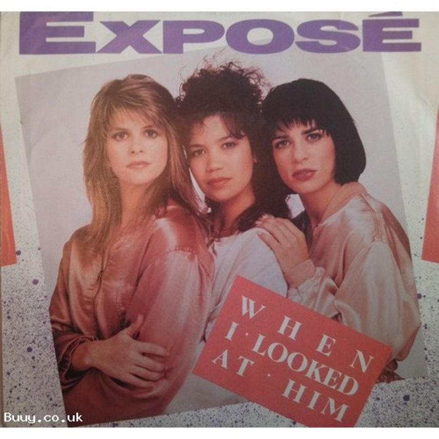 Expose - When I Look At Him - Vinyl Record 7