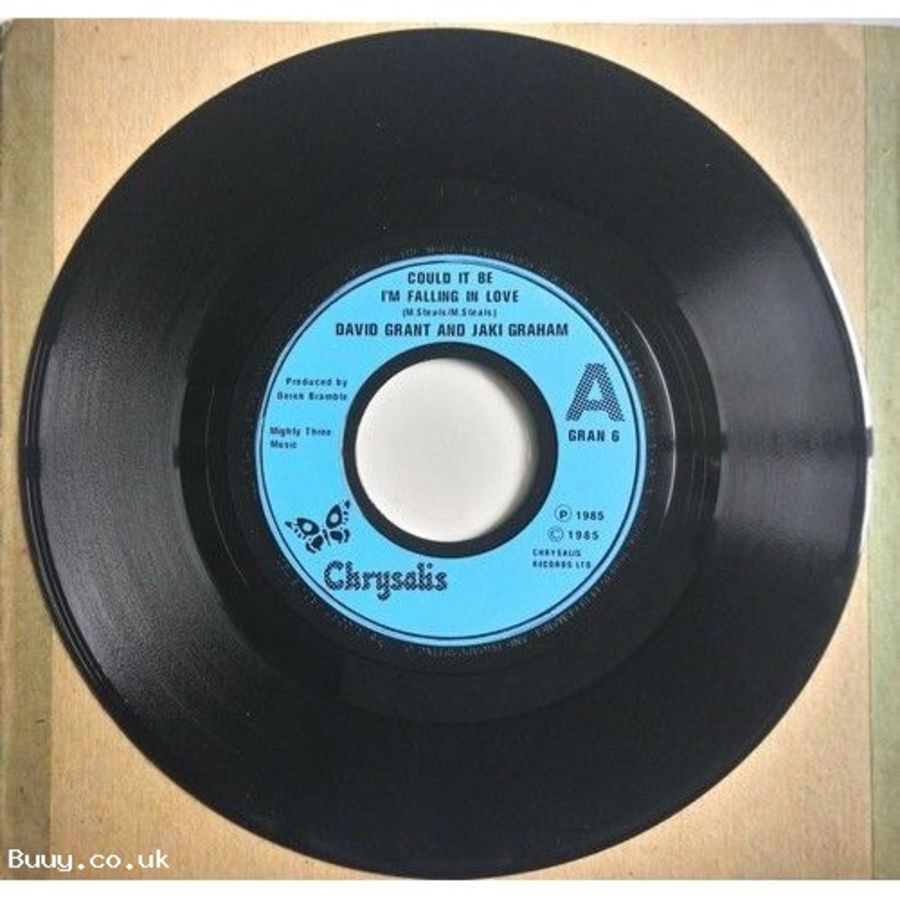 David Grant - Could It Be I'm Falling In Love - Vinyl Record 7