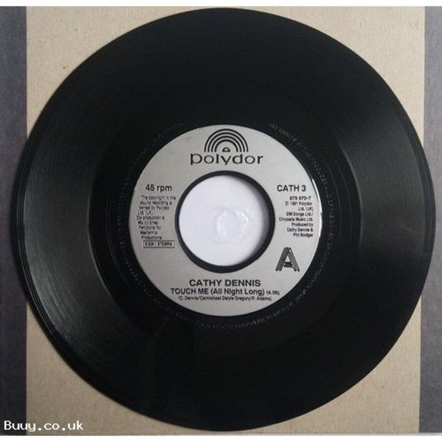 Cathy Dennis - Touch Me - Vinyl Record 7