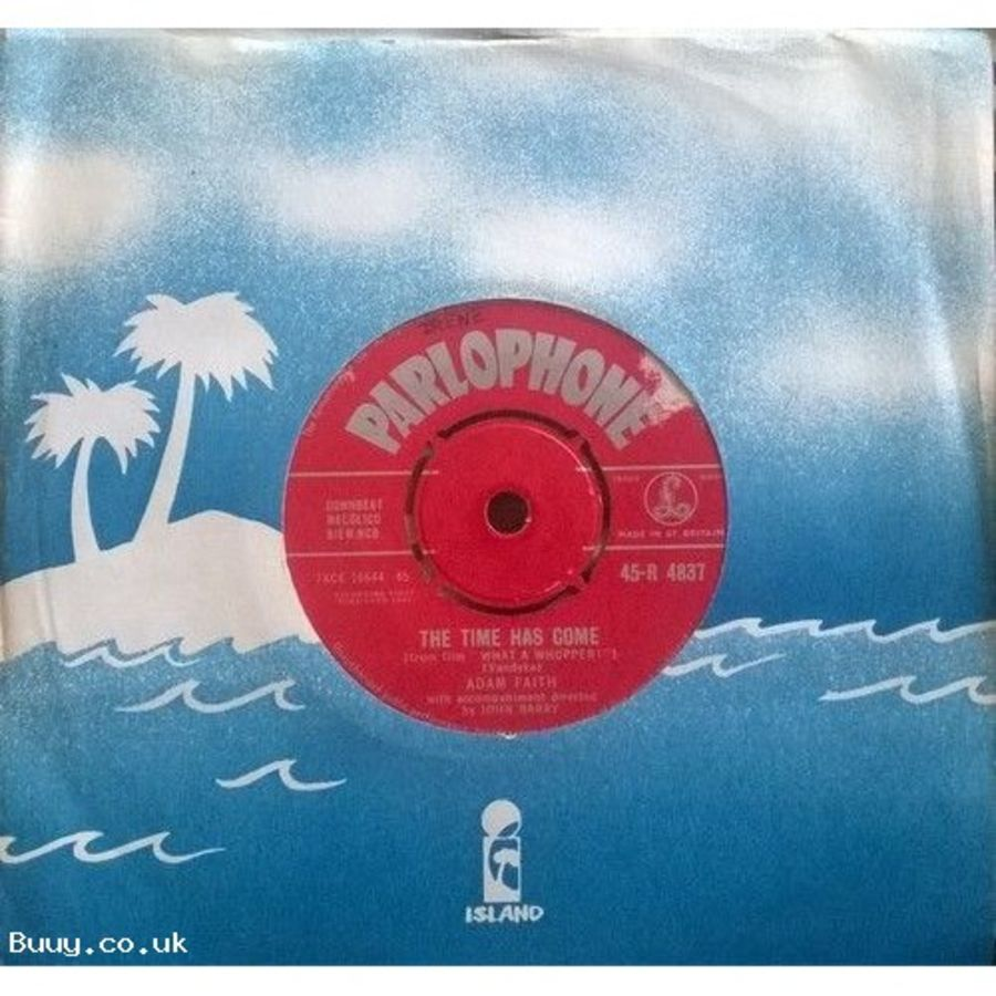 Adam Faith - The Times Has Come / A Help Each Other Romance