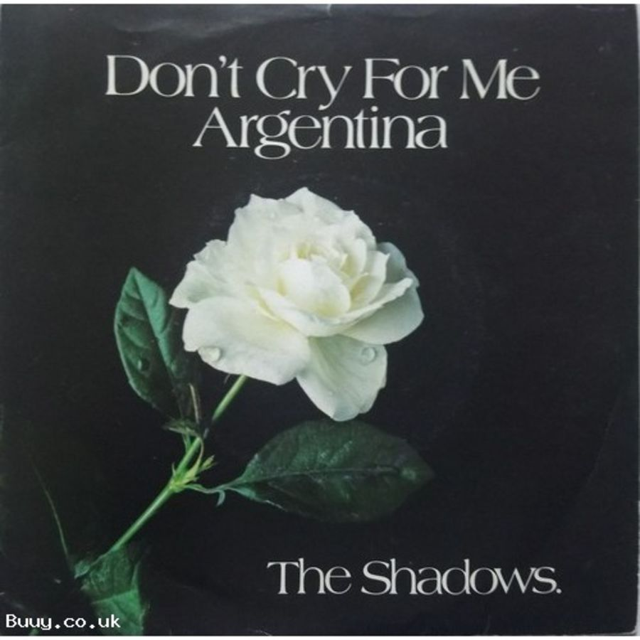 The Shadows - Don't Cry For Me Argentina - Vinyl Record 7