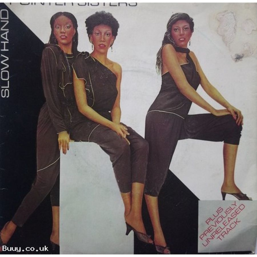 Pointer Sisters - Slow Hand - Vinyl Record 7