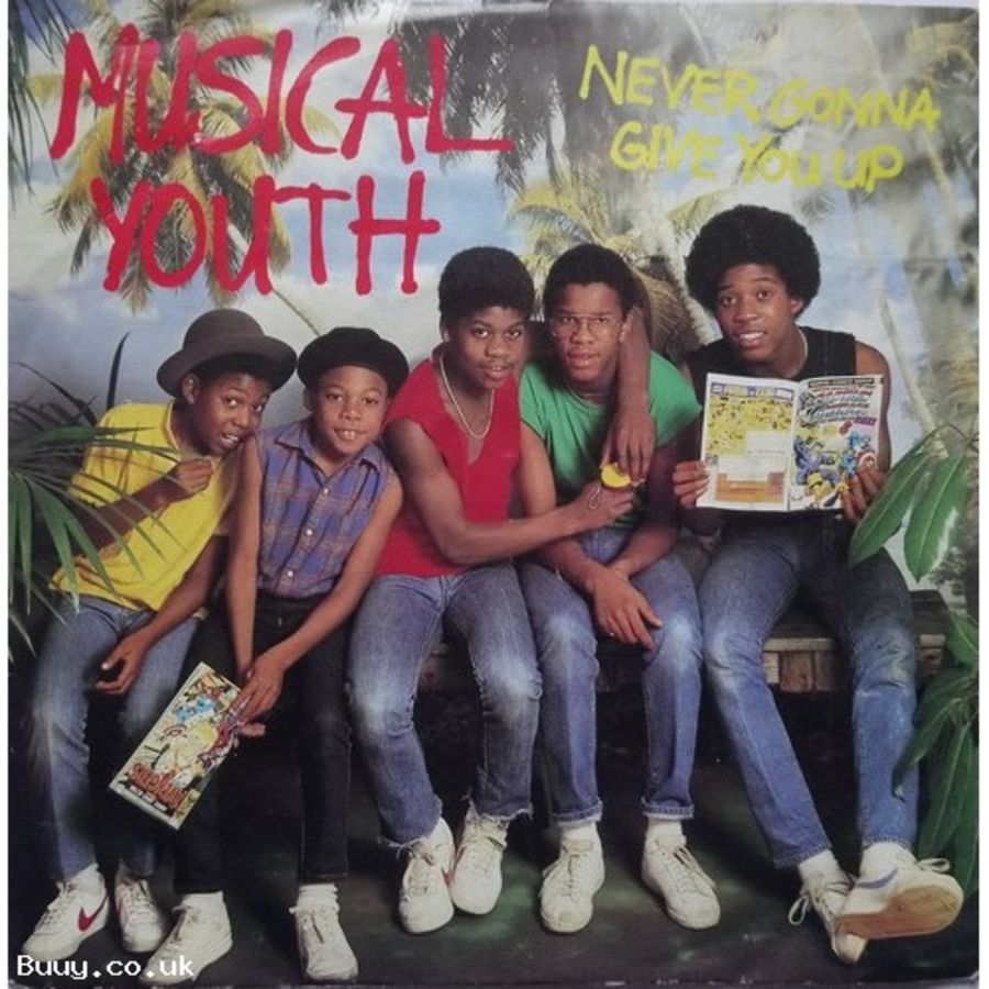 Musical Youth - Never Gonna Give You Up - Vinyl Record 7