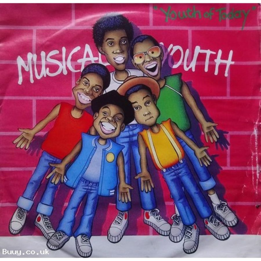 Musical Youth - Youth Of Today - Vinyl Record 7