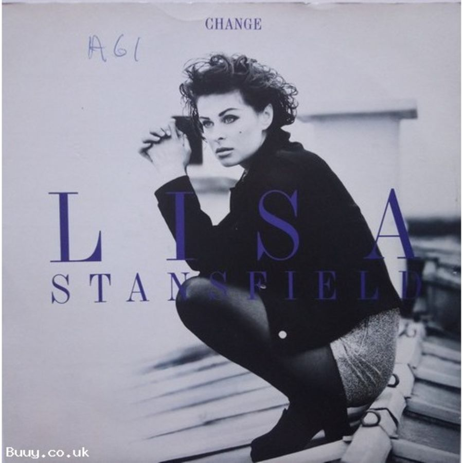 Lisa Stansfield - Change - Vinyl Record 7