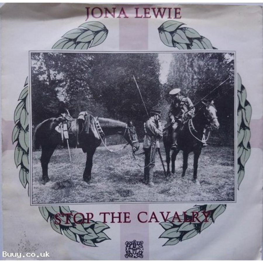 Jona Lewie - Stop The Cavalry - Vinyl Record 7