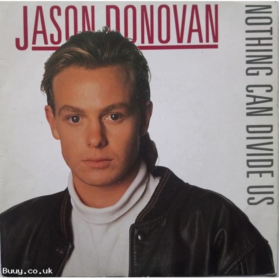 Jason Donovan - Nothing Can Divide Us - Vinyl Record 7