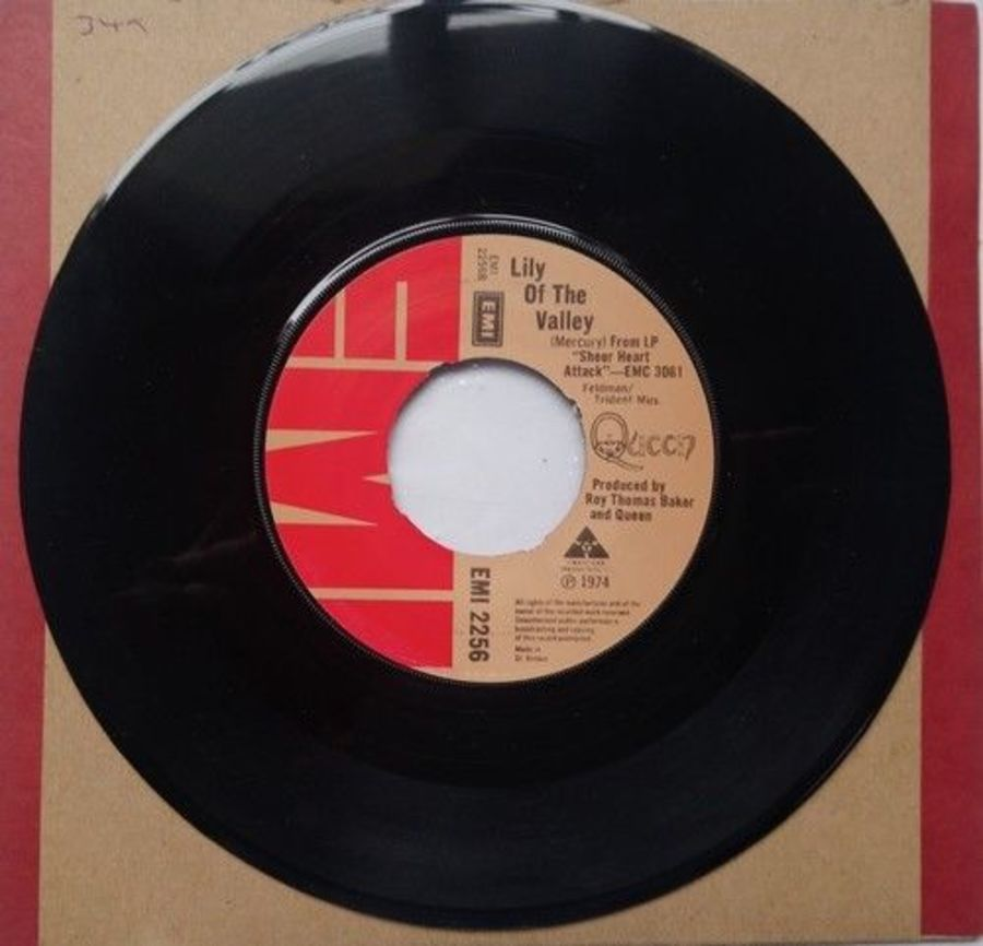 Queen - Lily Of The Valley - Vinyl Record 7