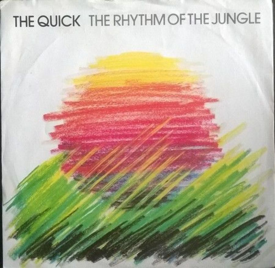 The Quick - The Rhythm Of The Jungle - Vinyl Record 7