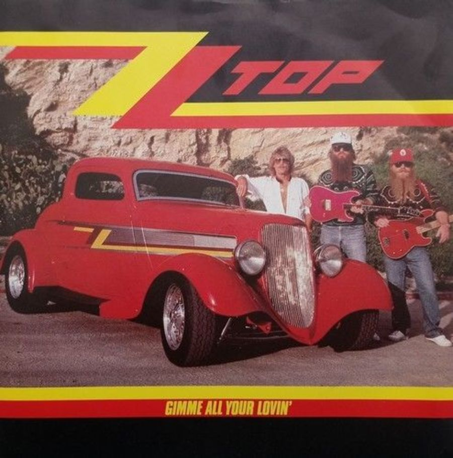 ZZ Top - Gimme All Your Lovin' - Vinyl Record 7