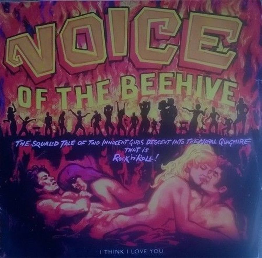 Voice Of The Beehive - I Think I Love You - Vinyl Record 7