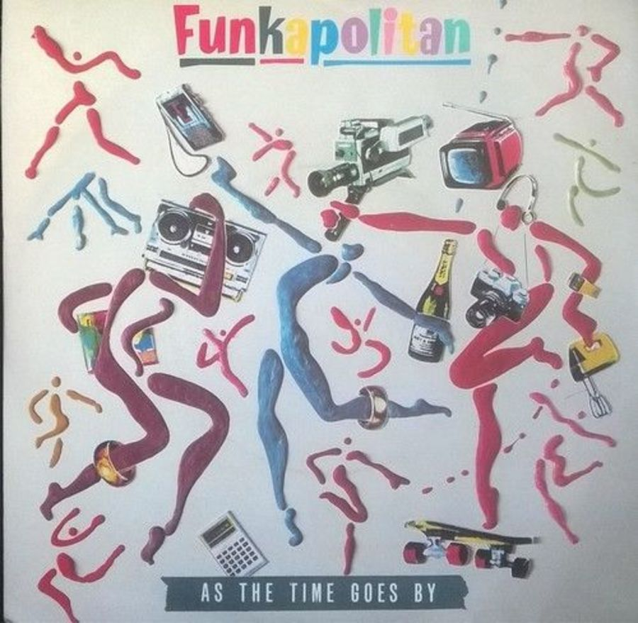 Funkapolitan - As The Time Goes By- Vinyl Record 7
