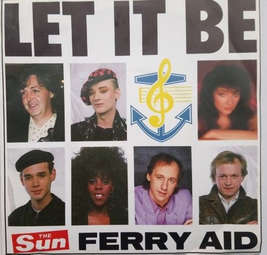 Ferry Aid - Let It Be - Vinyl Record 7