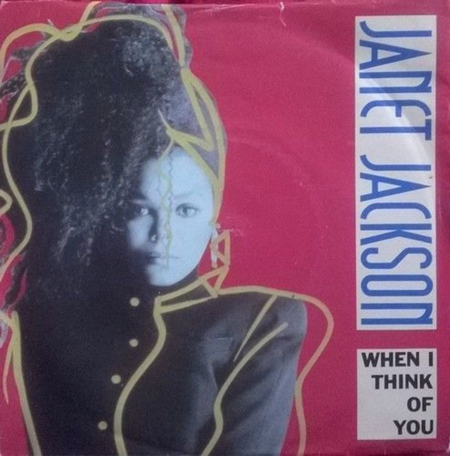 Janet Jackson - When I Think Of You - Vinyl Record 7