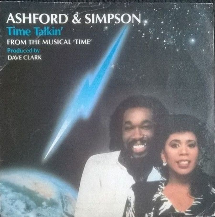 Ashford & Simpson - Time Talkin - Vinyl Record 7