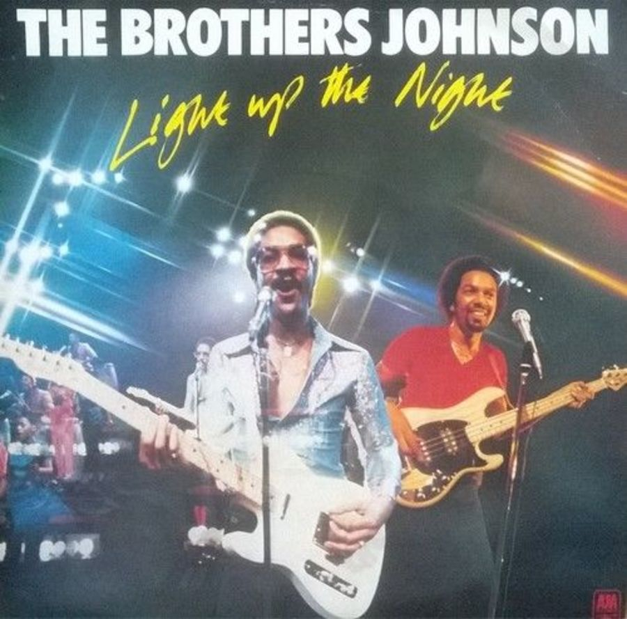 The Brothers Johnson - Light Up The Night - Vinyl Record 7