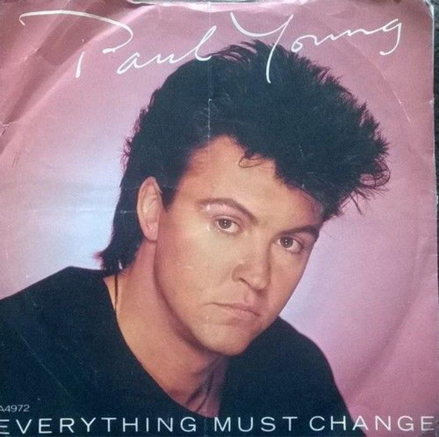 Paul Young - Everything Must Change - Vinyl Record 7