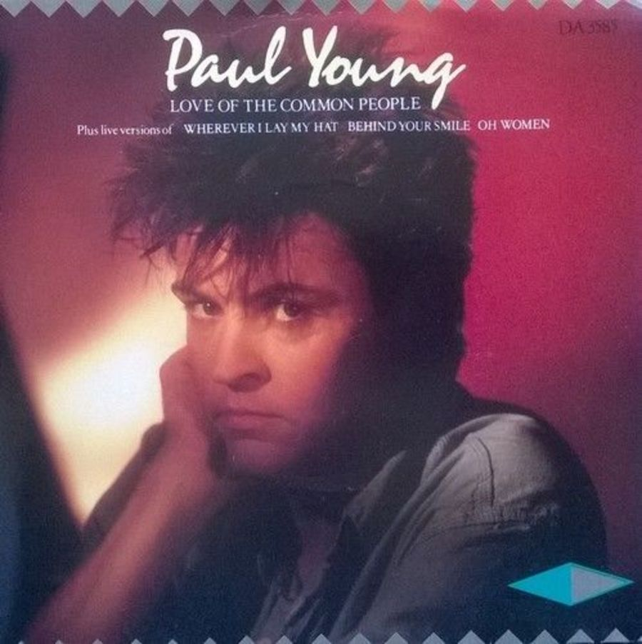 Paul Young - Love Of Tee Common People - Vinyl Record 7