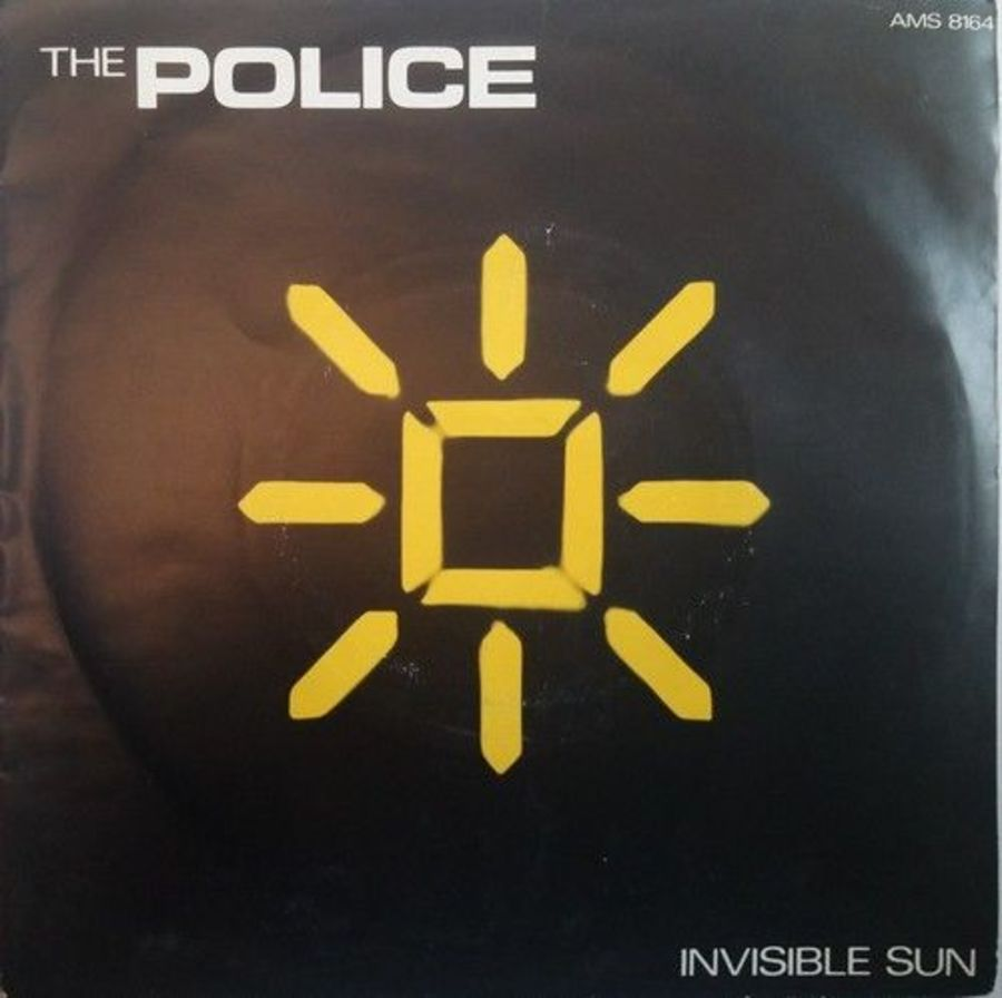 The Police - Invisible Sun - Vinyl Record 7
