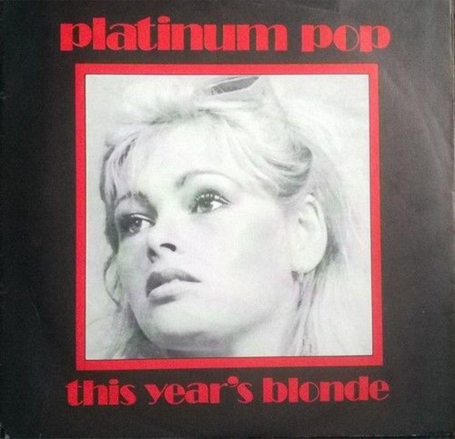 This Years Blonde - Platinum Pop - Vinyl Record 7