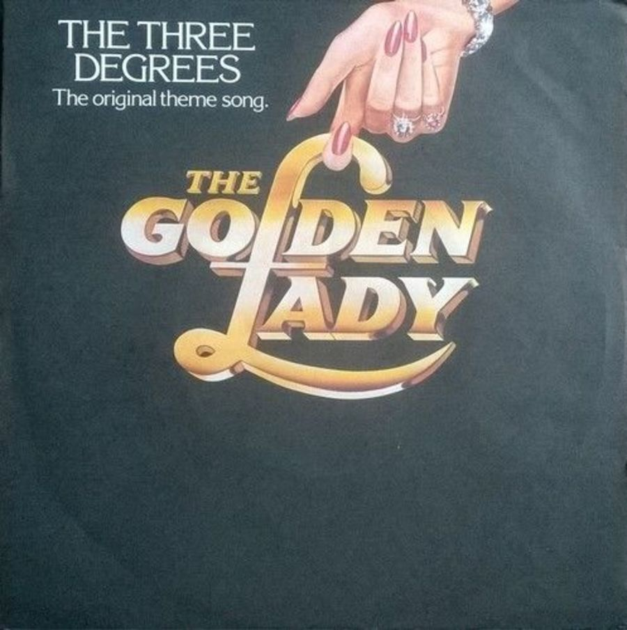The Three Degrees - The Golden Lady - Vinyl Record 7