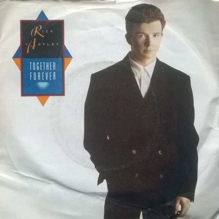 Rick Astley - Together Forever - Vinyl Record 7
