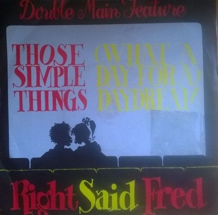 Right Said Fred - Those Simple Things - Vinyl Record 7