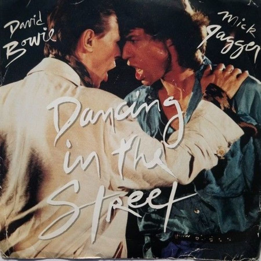 David Bowie / Mick Jagger - Dancing In The Street - Vinyl Record 7