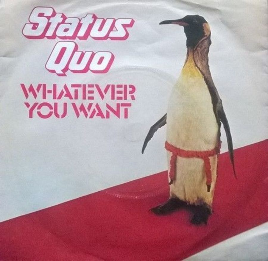 Status Quo - Whatever You Want - Vinyl Record 7