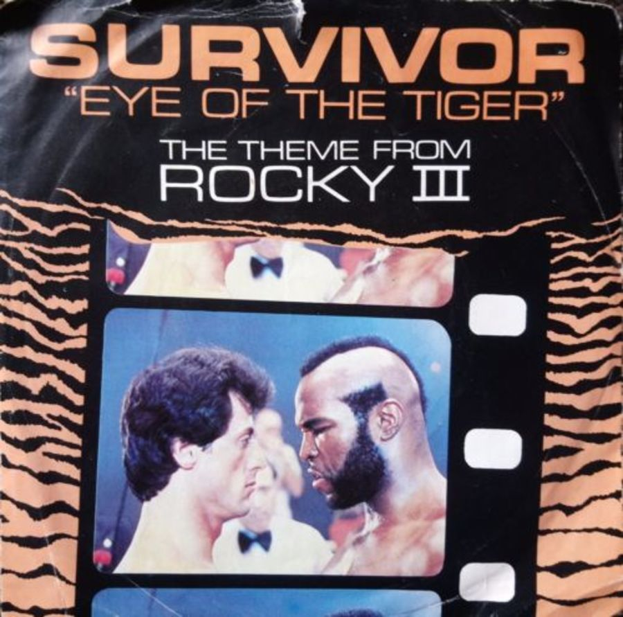 Survivor - Eye Of The Tiger - Vinyl Record 7