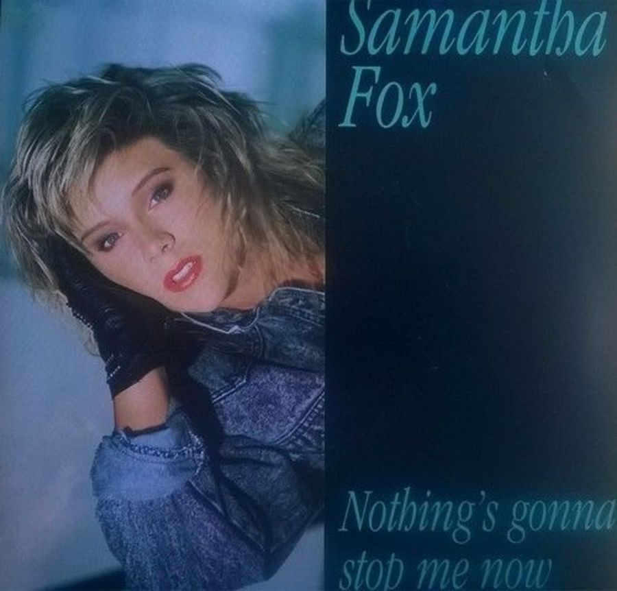 Samantha Fox - Nothing's Gonna Stop Me Now - Vinyl Record 7