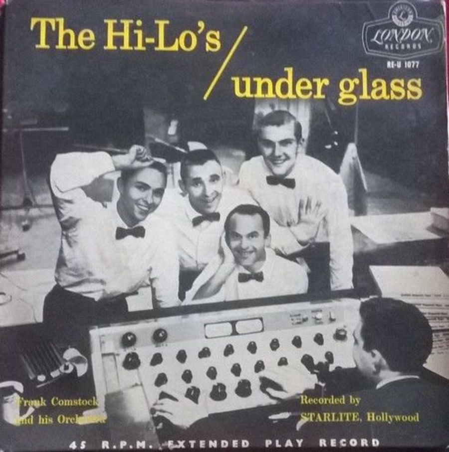 The Hi-Lo's - Under Glass - Vinyl Record 7