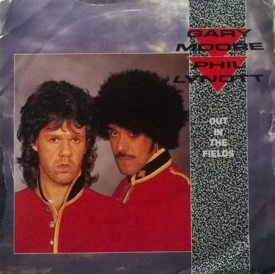 Gary Moore / Phil Lynott - OutIn The Fields - 7