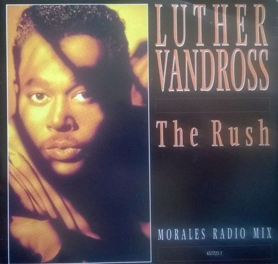 Luther Vandross - The Rush - Vinyl Record 7