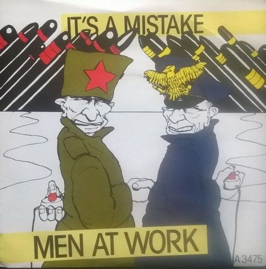 Men At Work - It's A mistake - Vinyl Record 7