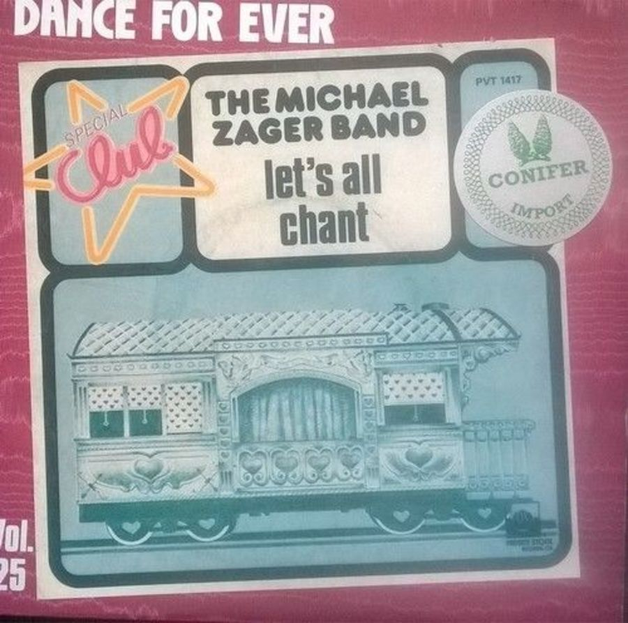 The Michael Zagger Band - Let's All Chant - Vinyl Record 7