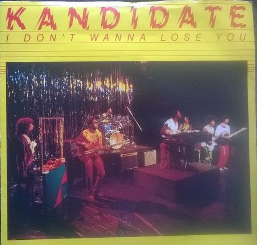 Kandidate - I Don't Wanna Lose You - Vinyl Record 7