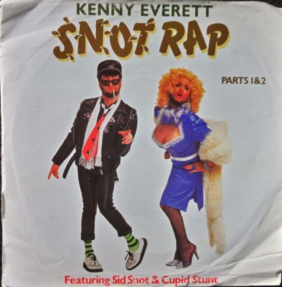 Kenny Everett - Snot Rap - Vinyl Record 7